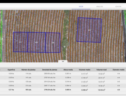 Actualización de Mapsens® Agro – Herramienta de análisis interactivo de inventarios agronómicos