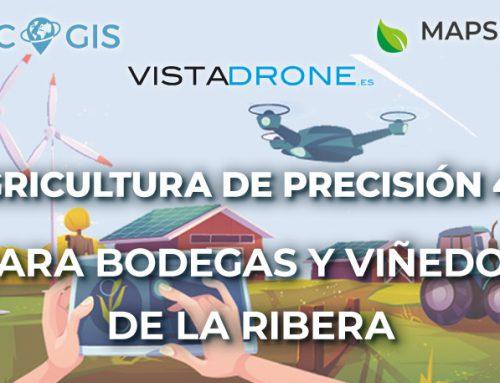 Presentación de servicios de Agricultura de Precisión 4.0 para bodegas y viñedos en la Ribera del Duero